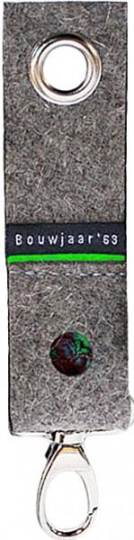 Schlüsselanhänger Filz grün