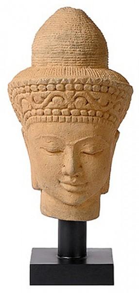 Buddha Figur Kopf Stein charrell