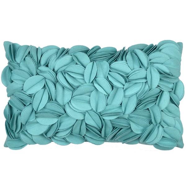 Kissenhülle Dorothy turquoise pad