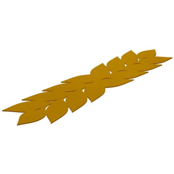 Tischläufer LEAF mustard hey-sign