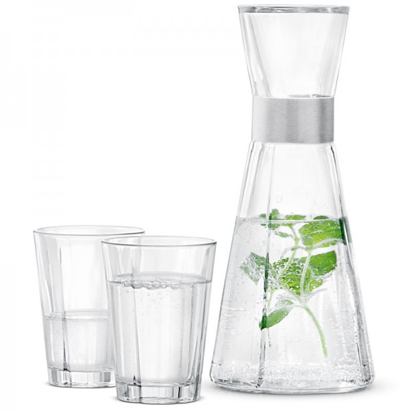 Grand Cru Wasserkaraffe und Gläser Rosendahl