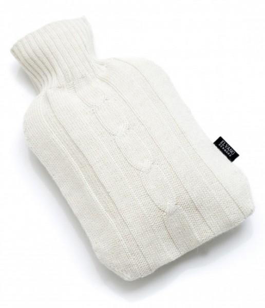 Alpaka Wärmflasche weiß