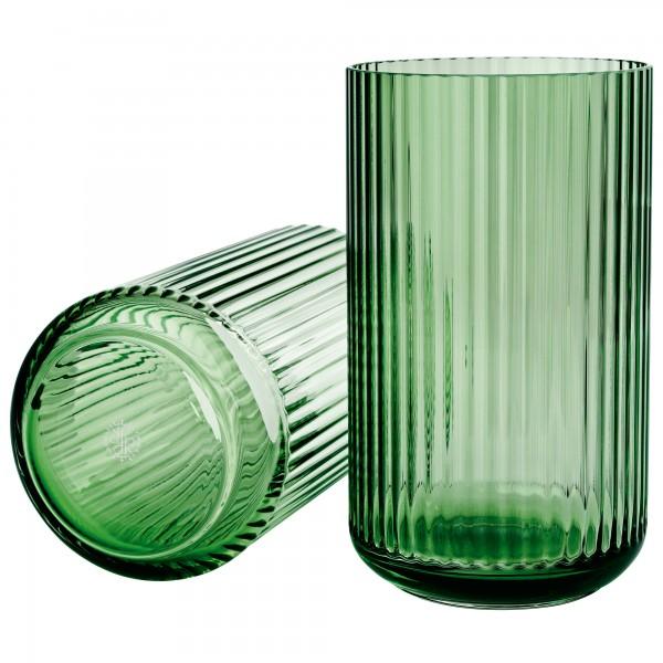 Lyngby Vase Glas grün Lyngby Porcelæn