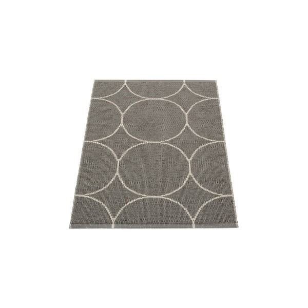 Teppich Boo charcoal 70 x 100 cm pappelina