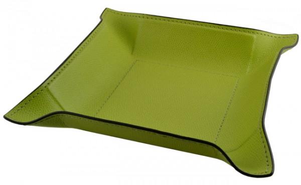 Taschenleerer Jack Leder grün Giobagnara
