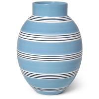 Kähler Design Omaggio Nuovo Vase Mittelblau 30cm