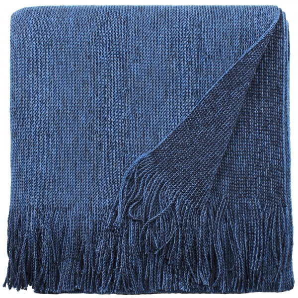 Wollponcho blau eagle products