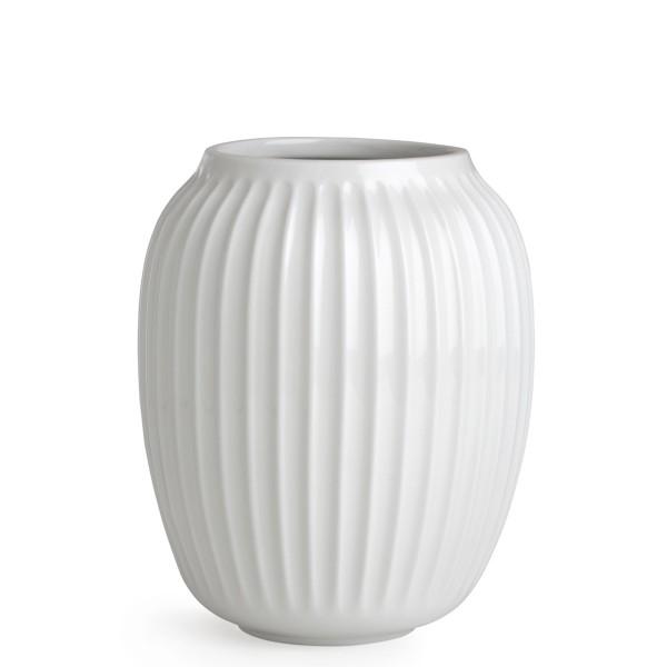 Kähler Design Hammershøi Vase Weiß 21cm