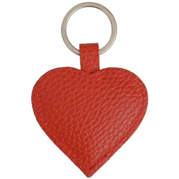 Schlüsselanhänger Herz rot papoutsi