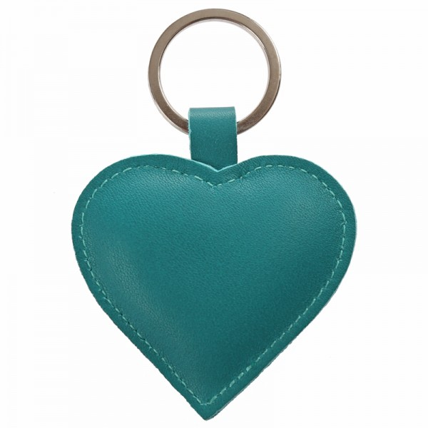 Schlüsselanhänger Herz petrol papoutsi