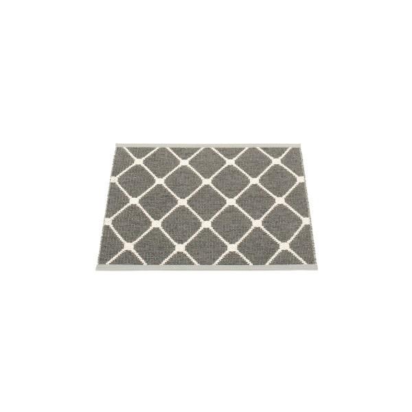 Teppich Rex charcoal 70 x 60 cm pappelina