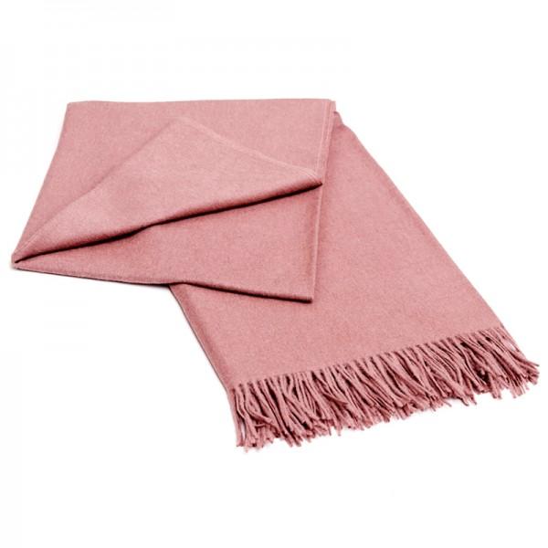 Alpaka Decke rosa