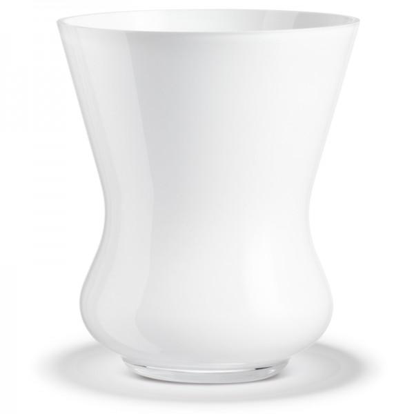 Holmegaard Jeb 65 Glasvase weiß
