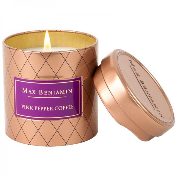 Duftkerze Pink Pepper Coffee Max Benjamin