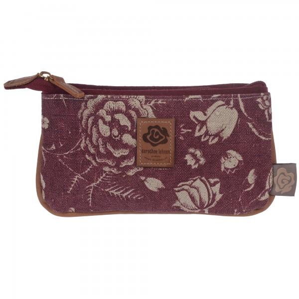 Blossom Pocket dunkelrot Dorothee Lehnen