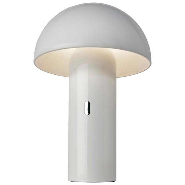 Sompex Akku LED Tischleuchte Svamp Weiß