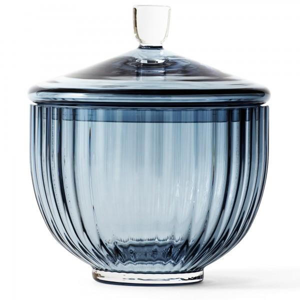 Lyngby Bonbonniere Glas blau