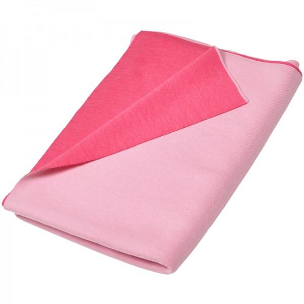 Merino Decke Doubleface rosa/magenta Lenz & Leif