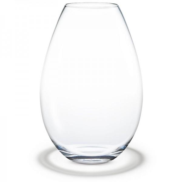 Cocoon Vase klar Holmegaard