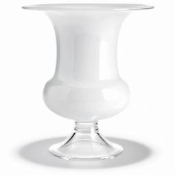Vase Old English weiß