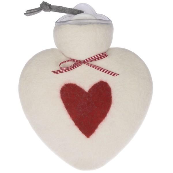 Wärmflasche Herz weiß dorothee lehnen