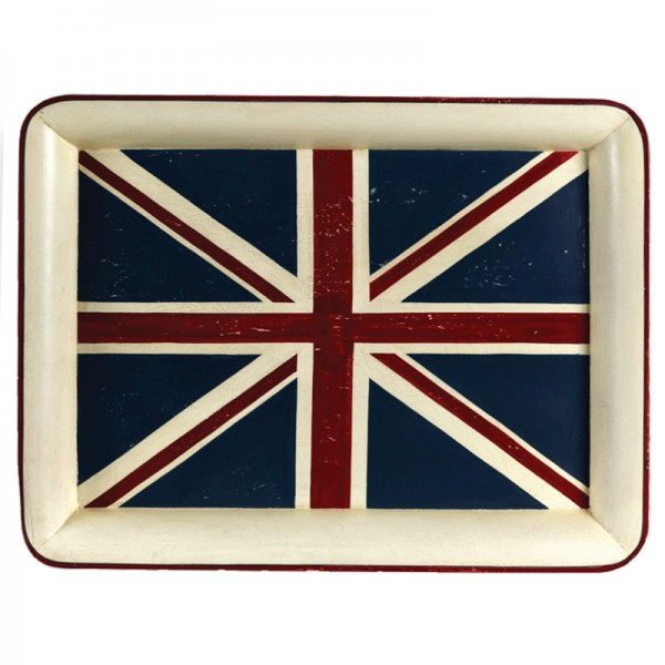 Serviertablett englische Flagge Newport Collection