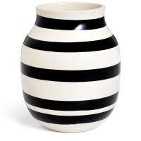 Kähler Design Omaggio Vase Schwarz 20cm