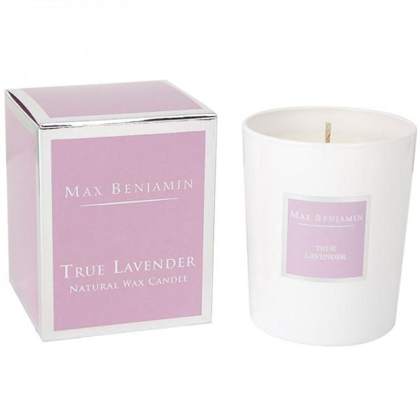 Duftkerze True Lavender Max Benjamin