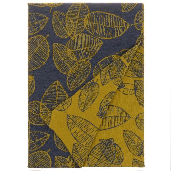 Schal Folio blau gelb mckernan