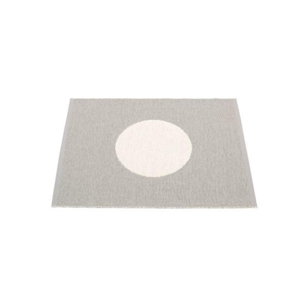 Teppich Vera warm grey 70 x 90 cm pappelina