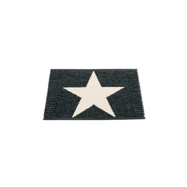 Teppich Viggo Oneschwarz 70 x 50 pappelina