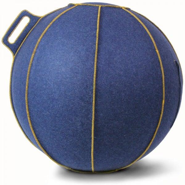 stilvoller sitzball Welt blau vluv