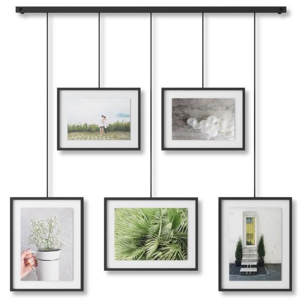Umbra Exhibit Foto Collage Bilderrahmen Schwarz