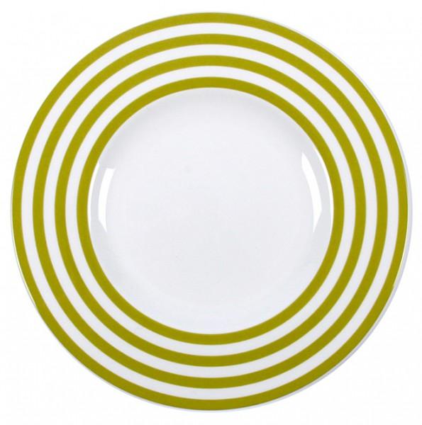 Teller Freshness mit Streifen grün