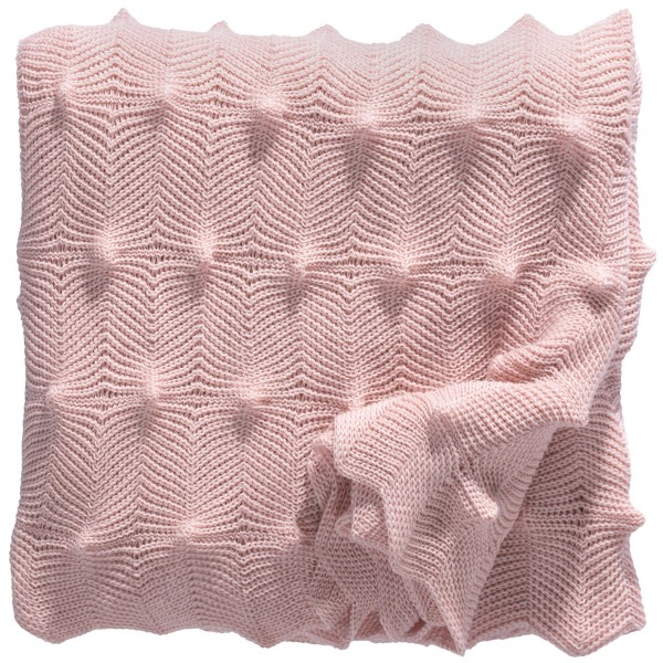 Strickdecke Landscape rosa eagle products
