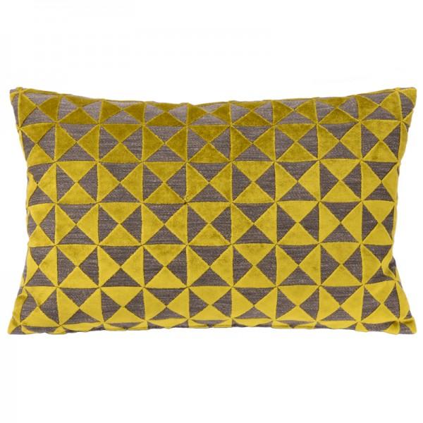 Sofakissen Filippa gelb / mustard De Kussenfabriek
