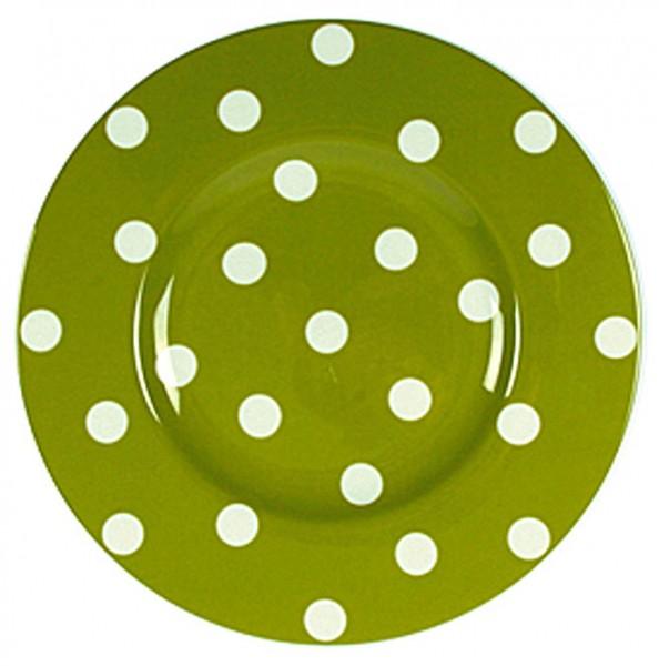 Teller Freshness Punkte grün