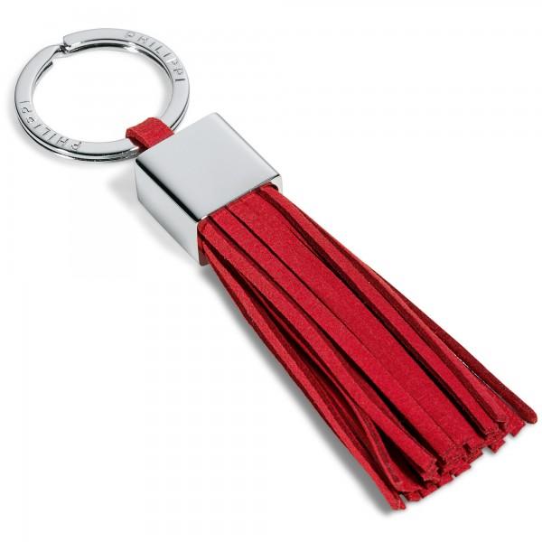 Schlüsselanhänger GALA Leder rot Philippi