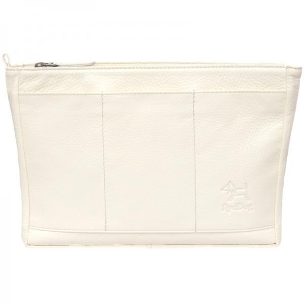 Handtaschen Organizer Leder cream RedDog Design