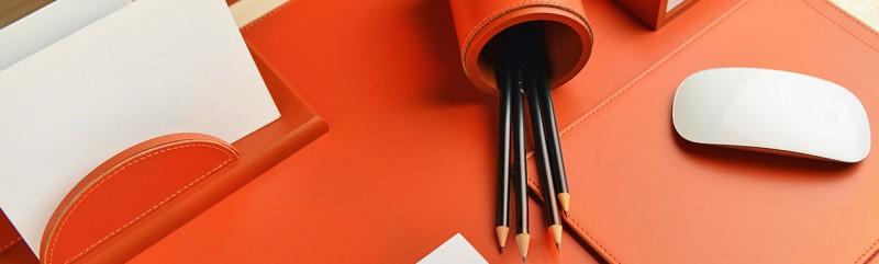Büroaccessoires Edel Den Schreibtisch Gestalten Fiolinide