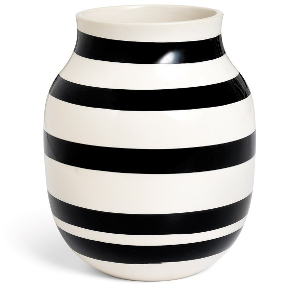 Omaggio Vasen schwarz 20 cm Kähler