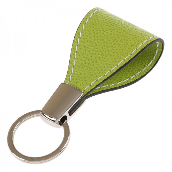 Schlüsselanhänger Golf Leder grün