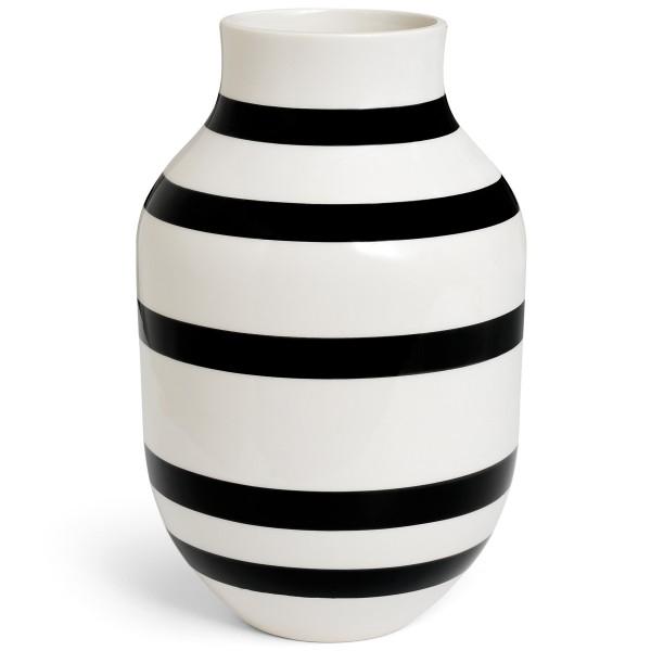 Omaggio Vasen schwarz 31 cm Kähler Design