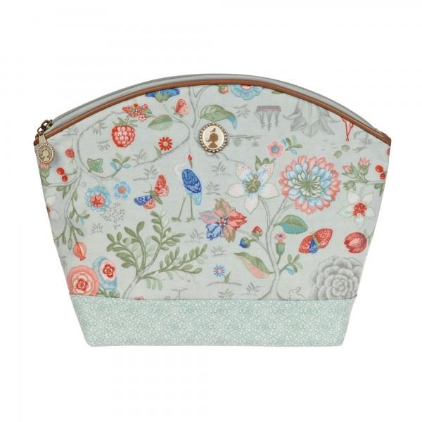 Kosmetiktasche Spring to Life celadon