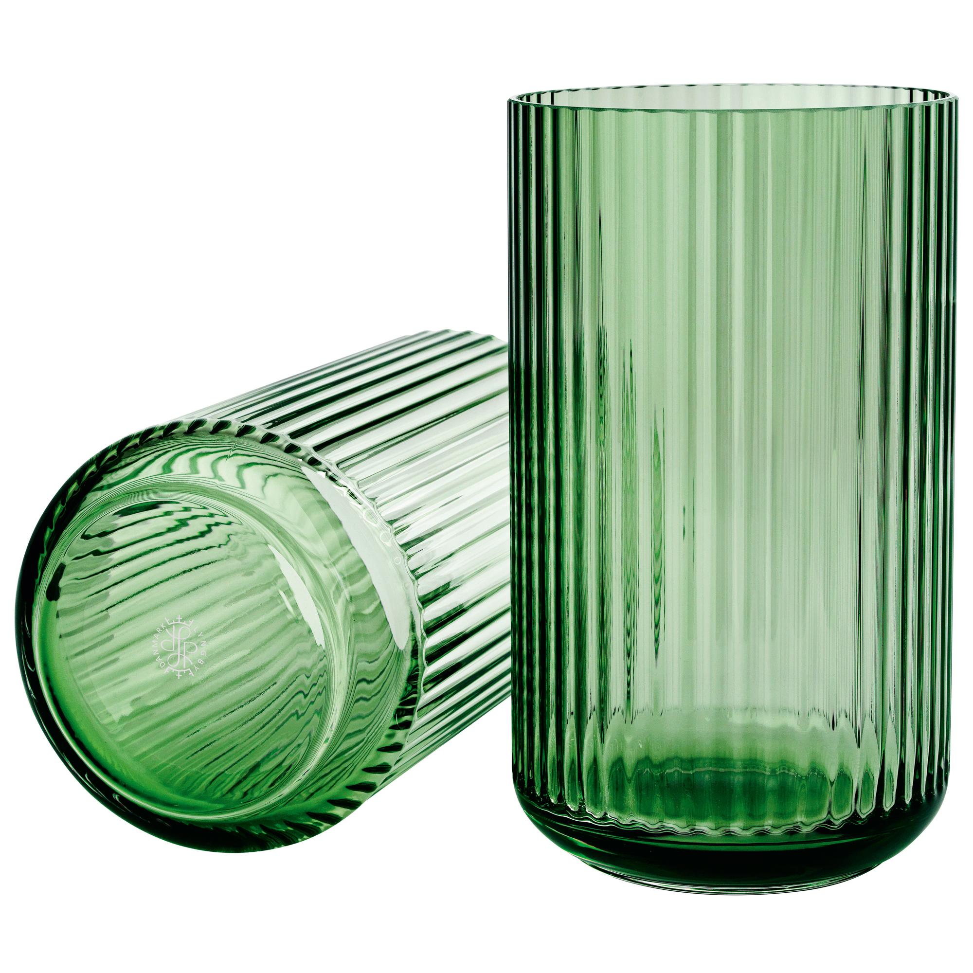 Lyngby Vase Glas Grün Online Kaufen Fiolinide