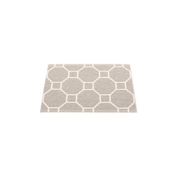 Teppich Rakel warm grey 70 x 50 cm pappelina