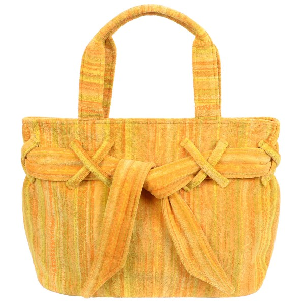 Frottee Tasche Yellow Shadows Elaiva