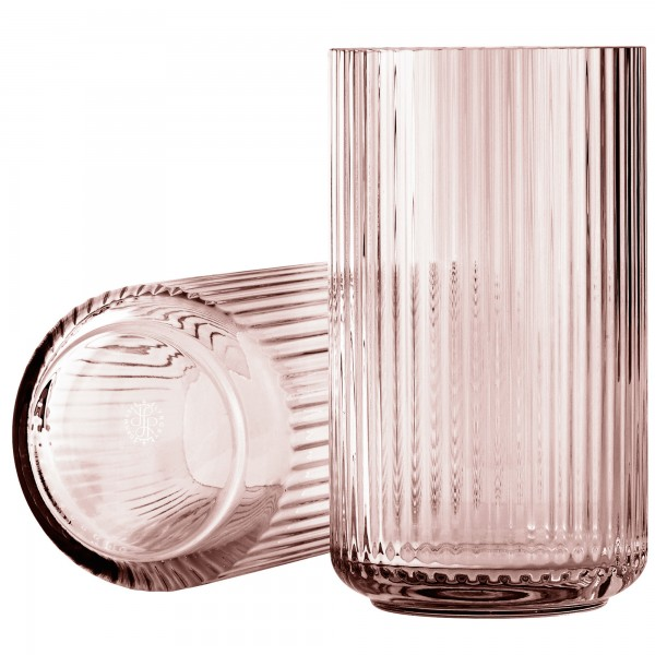 Lyngby Vase Glas rosa Lyngby Porcelæn