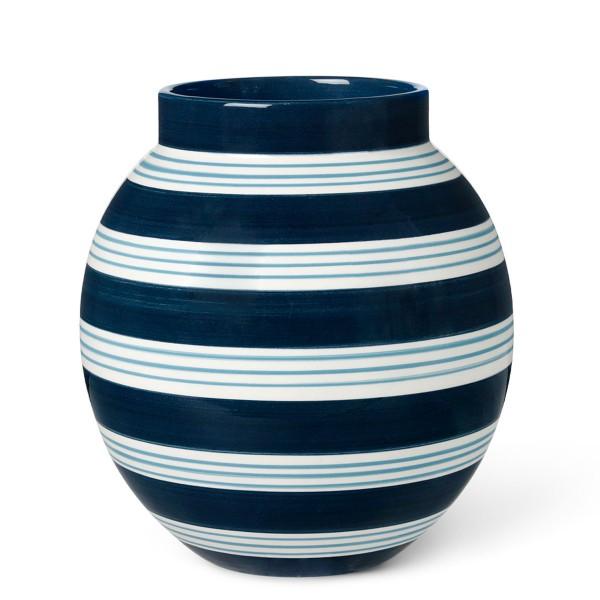Kähler Design Omaggio Nuovo Vase Dunkelblau 20,5cm
