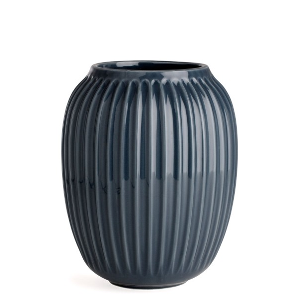 Kähler Design Hammershøi Vase Anthrazit 21cm